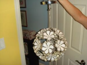 Fun Flower Hanging light by UBER HAUS cute accent piece!