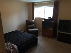Large bedroom and basement for rent