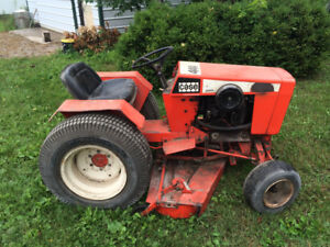 Case 444 lawn mower