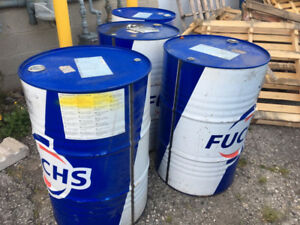205 litre steel drums