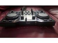DJ control mixer