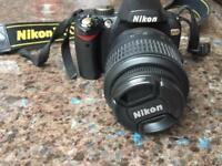 Nikon D60 gold DSLR camera