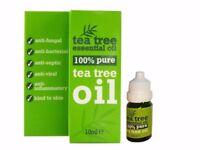 100 % Pure Tea Tree Essential Oil 10ml- Melaleuca Alternifolia Anti Fungal ITEM TOTALLY NEW