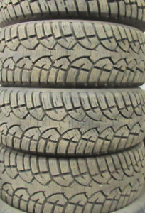A SET OF TIRES AT 99% TREAD ()()()P205—50—17()()() These are ove