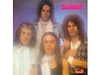 5 Slade LP's from 1970's for sale - all in good condition.