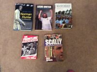 Leeds United And Other Football.Books