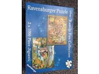 2 x 1000 piece Disney jigsaws