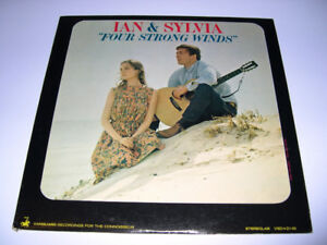 Ian & Sylvia - Four Strong Winds (1963) LP Vinyl 33 tours folk