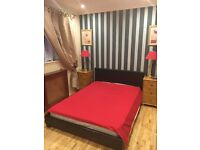 One furnished double bedroom