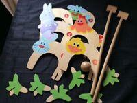 ELC children's croquet complete set