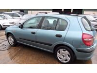 nissan almera parts from a 2004/5 car 1.5 petrol green