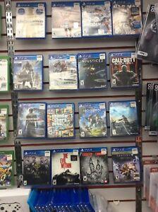Jeux de PS4 sur demande