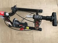 NEW ELITE VOLARE SPEED HOME TRAINER and FRONT WHEEL STAND