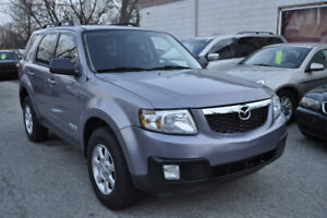 2008 Mazda Tribute, 2.3L, 4 Cyl. E-Certified. Finance Available.