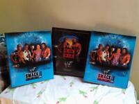 3 x Large WWE Wrestling Folders