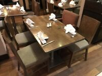 Nice quality solid dinning tables and chairs