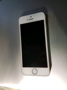 White iPhone 5s 10/10 condition