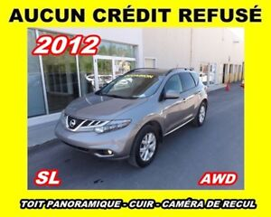 2012 Nissan Murano SL*AWD*cuir, toit panoramique*