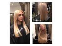 Hair Extensions London, & Greater London (Finest Quality Hair, Micro Rings, Weft, Tape)