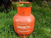 Red Calor Gas Bottle Camping DIY Tools Repair 3.9 KG Propane