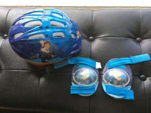 Diego Bike Helmet and Knee Pads