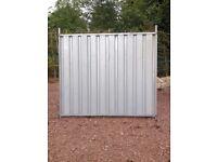 Galvanised Steel Hoarding Panels