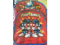 POWER RANGERS BACKPACK/SCHOOL BAG