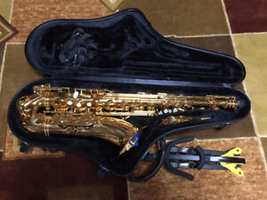 Phil Barone Classic tenor sax vintage gold lacquer. Like New!