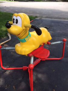 Spring Jumping dog for 1-3 years kid
