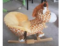 New Toddlers Baby Rocking Horse Giraffe