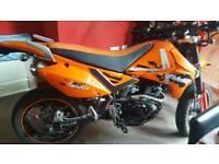 Pulse Adrenaline 125cc motorbike