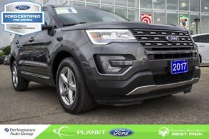 2017 Ford Explorer XLT|3.5L|V-6|4x4|ROOF|NAVI|FORD CERTIFIED