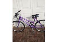 """Ladies Freespirit Mist 26"""" wheel bike 19"""" frame"""
