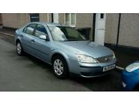 55 PLATE FORD MONDEO. 2 LITRE TDCI TURBO DIESEL. DRIVES VERY WELL