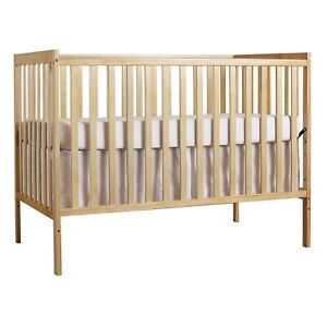 Dream On Me Synergy 5 in 1 convertible crib, natural color