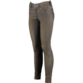 Polo Ralph Lauren £1135 Lambskin Leggings BRAND NEW WITH TAGS ! SAVE £785 !