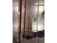 Salmon fly rod