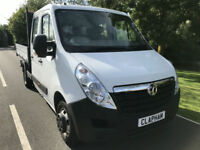 2015 65 VAUXHALL MOVANO TIPPER 2.3CDTI 125BHP L3 H1 3500 1 OWNER ANY UK DELIVERY