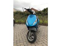 ⛔️⛔️ WORKING MOPED PIAGGIO ZIP 50cc ⛔️⛔️