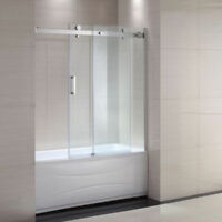 Shower/bathtub door enclosure installation