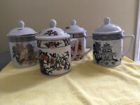 Overjoy Chinese Mugs with Lids PRICE REDUCTION