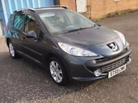 (59) Peugeot 207 SW 1.6 hdi sport , mot -March 2018 , only 64,000 miles , 2 owners,astra,focus,golf