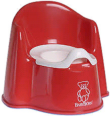 New baby bjorn potty