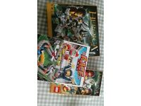 Lego board games 2 Heroica and Race 3000