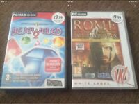 PC-CD Games x2 NEW & SEALED £5 EACH