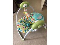 Baby swing chair - practically new!