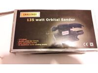 **BRAND NEW SANDER**NEVER USED**COMES WITH 15 SANDING SHEETS**ONLY £25**BARGAIN**