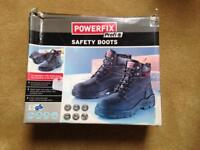 Men's safety work boots - Size 7