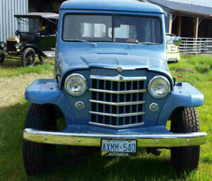 1950 Willys---starts and runs well!