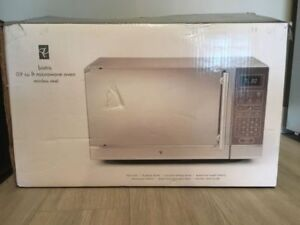 Presidents Choice Stainless Steel Microwave